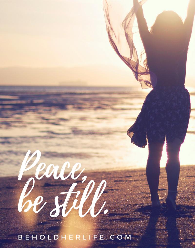 bhl peace be still